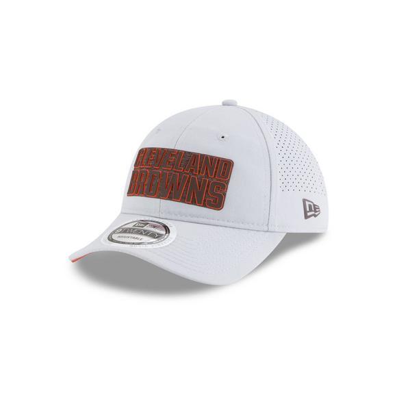 f0d222cc New Era Cleveland Browns Training 9TWENTY Adjustable Hat - Hibbett US