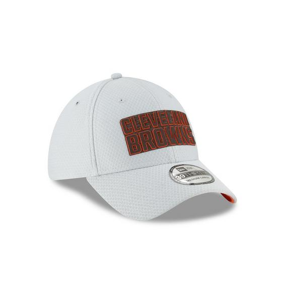 premium selection 5e51e 12052 New Era Cleveland Browns Training 39THIRTY Stretch-Fit Hat - Main Container  Image 2
