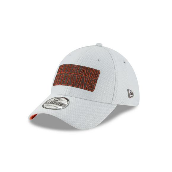 hot sale online 2f2dd 01561 New Era Cleveland Browns Training 39THIRTY Stretch-Fit Hat - Main Container  Image 1
