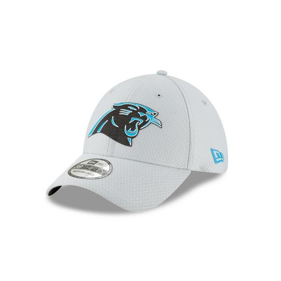 12c690bd3 New Era Carolina Panthers Training 39THIRTY Stretch-Fit Hat - Main  Container Image 1