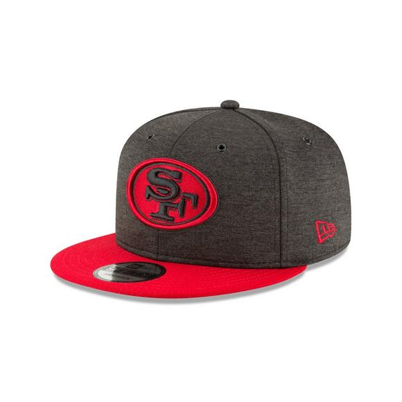 80876647ca1 New Era San Francisco 49ers Sideline 9FIFTY Snapback Hat - Main Container  Image 1