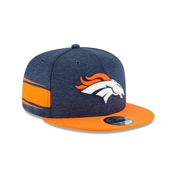 9f6efcc6737 New Era Denver Broncos Sideline 9FIFTY Snapback Hat - Main Container Image 2