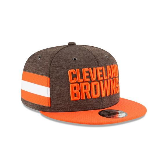 dbdb9bb9d New Era Cleveland Browns Sideline 9FIFTY Snapback Hat - Main Container  Image 2