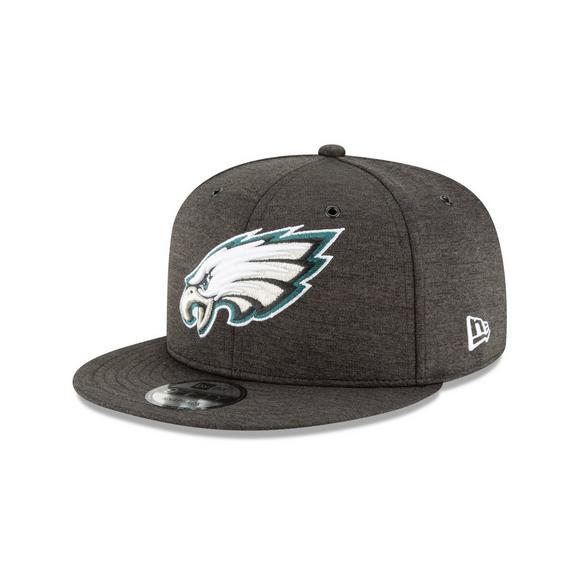 hot sale online e6f76 dcc14 New Era Philadelphia Eagles Sideline 9FIFTY Snapback Hat ...