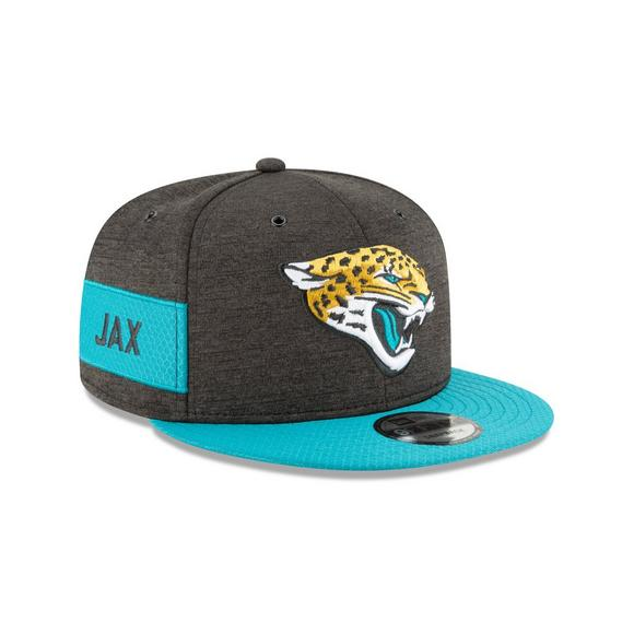 New Era Jacksonville Jaguars Sideline 9FIFTY Snapback Hat - Main Container  Image 2 885a57783dd