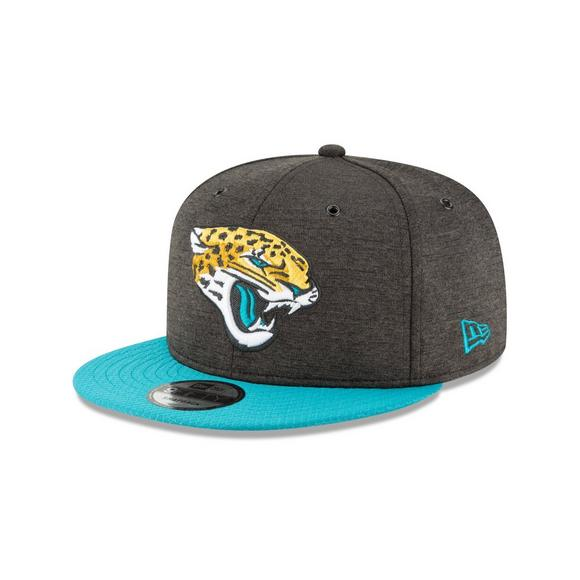New Era Jacksonville Jaguars Sideline 9FIFTY Snapback Hat - Main Container  Image 1 03ae827d51f