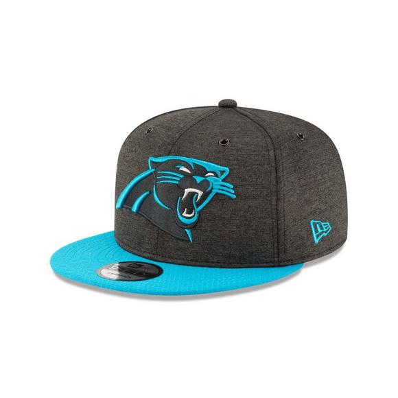 ebaef31b4 New Era Carolina Panthers Sideline 9FIFTY Snapback Hat - Main Container  Image 1