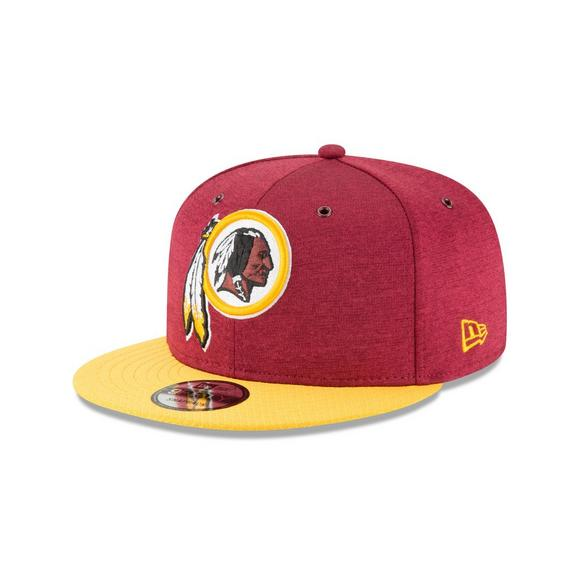 0175d6ada2990e New Era Washington Redskins Sideline 9FIFTY Snapback Hat - Main Container  Image 1