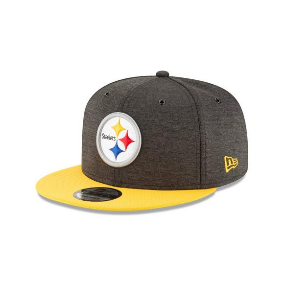 New Era Pittsburgh Steelers Sideline 9FIFTY Snapback Hat - Main Container  Image 1 70826f0dce0
