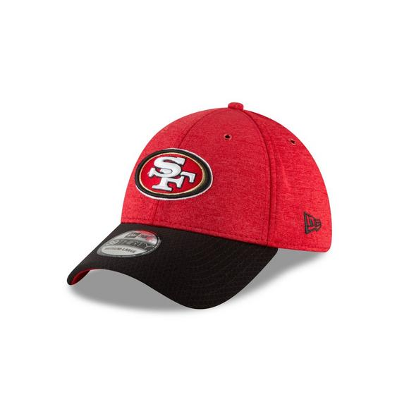 4a34d98b New Era San Francisco 49ers Sideline 39THIRTY Stretch Fit Hat - Main  Container Image 1