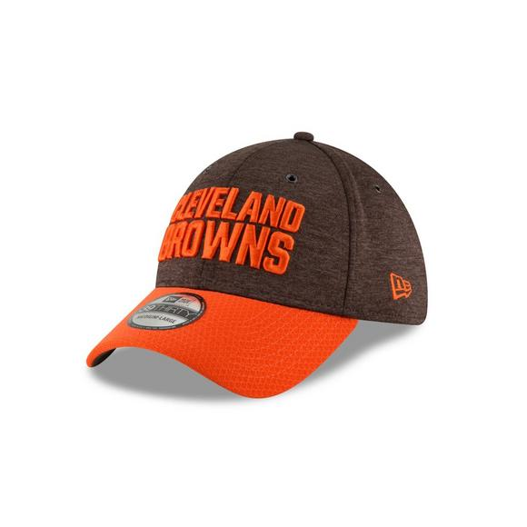 1f81a891abb New Era Cleveland Browns Sideline 39THIRTY Stretch Fit Hat - Main Container  Image 1