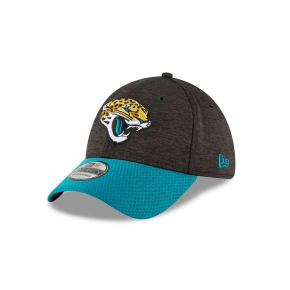 0116774e3 New Era Jacksonville Jaguars Sideline 39THIRTY Stretch Fit Hat - Main  Container Image 1