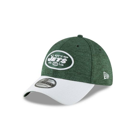 New Era New York Jets Sideline 39THIRTY Stretch Fit Hat - Main Container  Image 1 082372de27e