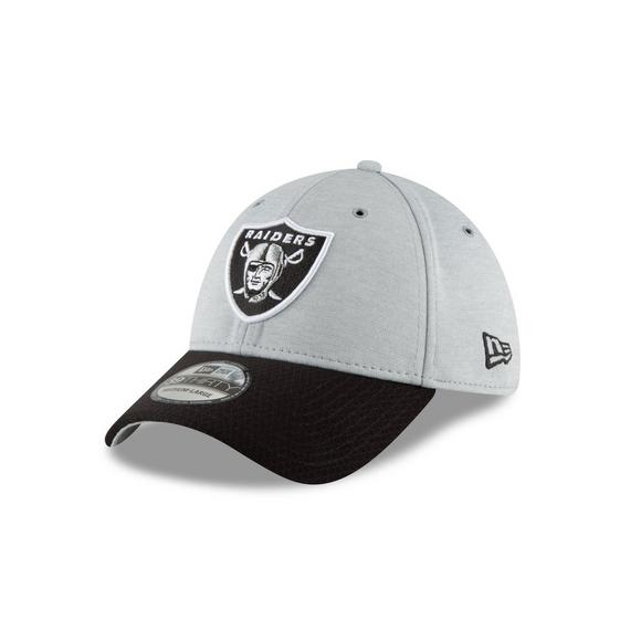 f3f812c42 New Era Oakland Raiders Sideline 39THIRTY Stretch Fit Hat - Main Container  Image 1