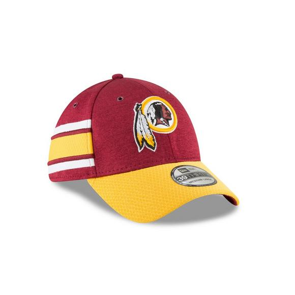 90193b3f New Era Washington Redskins Sideline 39THIRTY Stretch Fit Hat