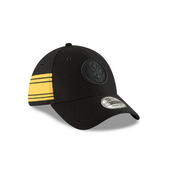 New Era Pittsburgh Steelers Sideline 39THIRTY Stretch Fit Hat - Main  Container Image 2 bf88ce6414d