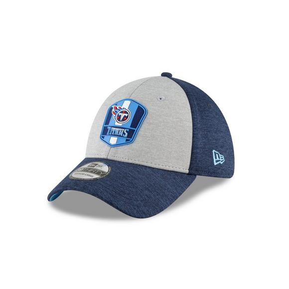 885b0da4b4b New Era Tennessee Titans Sideline 39THIRTY Stretch Fit Hat - Main Container  Image 1