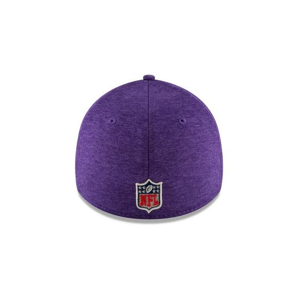 New Era Minnesota Vikings Sideline 39THIRTY Stretch Fit Hat - Main  Container Image 4 e4da3d5da