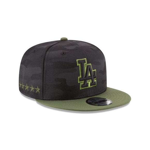 New Era Los Angeles Dodgers Memorial Day 9FIFTY Snapback Hat - Main  Container Image 2 2f215eb774a