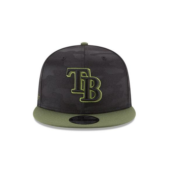 new arrival 4352f 415f0 New Era Tampa Bay Rays Memorial Day 9FIFTY Snapback Hat - Main Container  Image 3