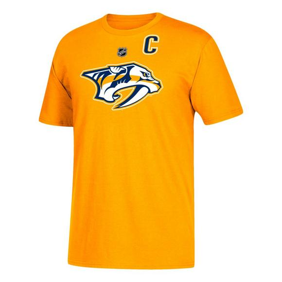 low priced a7ed2 abbff adidas Men's Nashville Predators Mike Fisher Name & Number T-Shirt