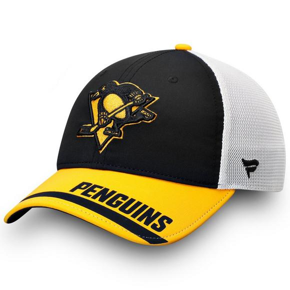 9f4ec16ba92 Fanatics Pittsburgh Penguins Iconic Tech Trucker Adjustable Hat - Main  Container Image 1