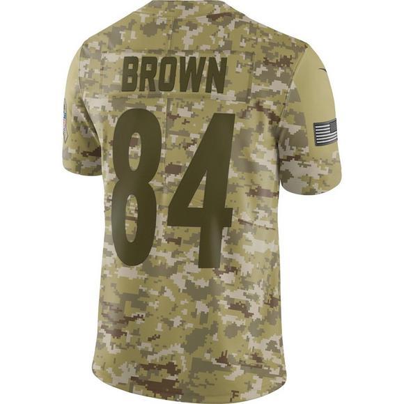 low priced abe66 242c8 Nike Men's Pittsburgh Steelers Antonio Brown Salute to ...