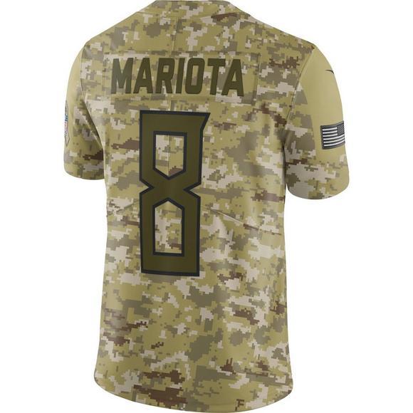 on sale 19bfa 5e4cd Nike Men's Tennessee Titans Marcus Mariota Salute to Service ...