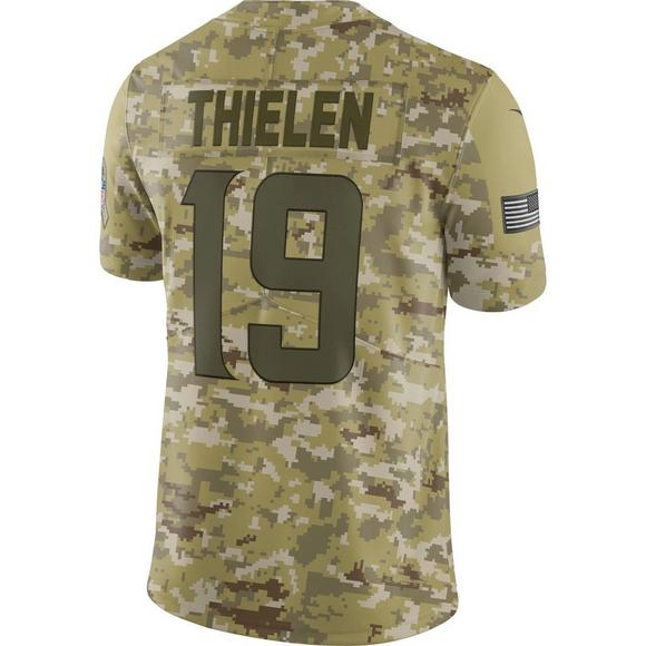 b7fdf3c1e Nike Men s Minnesota Vikings Adam Thielen Salute to Service Limited Jersey  - Main Container Image 2