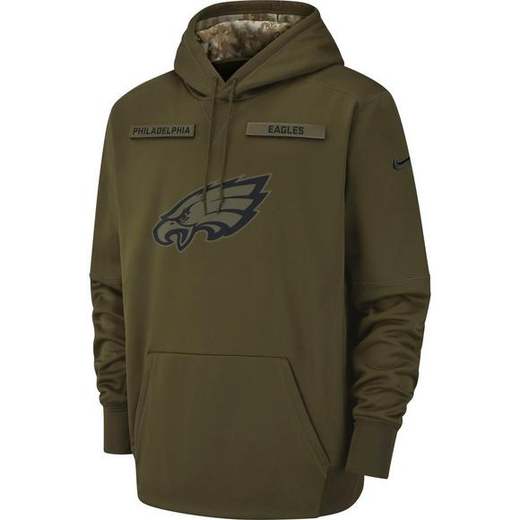 hot sale online 32bd8 aafc4 Nike Men's Philadelphia Eagles Salute to Service Therma ...