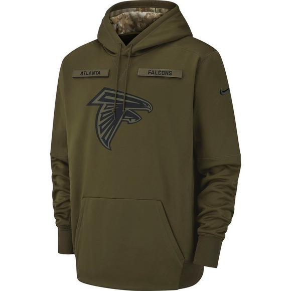 quality design 0bd34 0ed5d Nike Men's Atlanta Falcons Salute to Service Therma Hoodie ...