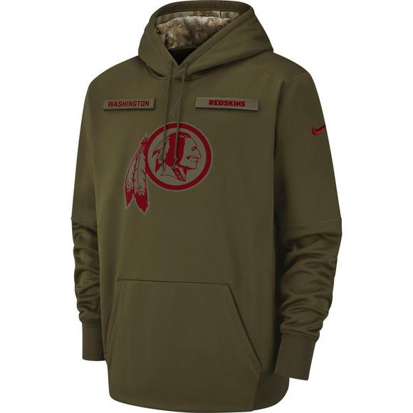 hot sale online fed47 3090d Nike Men's Washington Redskins Salute to Service Therma ...