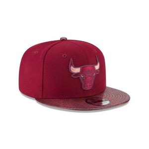273fe267304 New Era Chicago Bulls Snakeskin Sleek 9FIFTY Snapback Hat