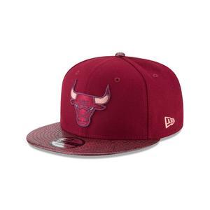 bf65d936fd7 New Era Chicago Bulls Snakeskin Sleek 9FIFTY Snapback Hat