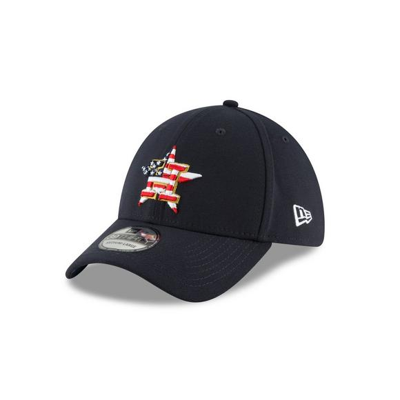 New Era Houston Astros 4th of July 39THIRTY Stretch-Fit Hat - Main  Container Image 721b991d6044