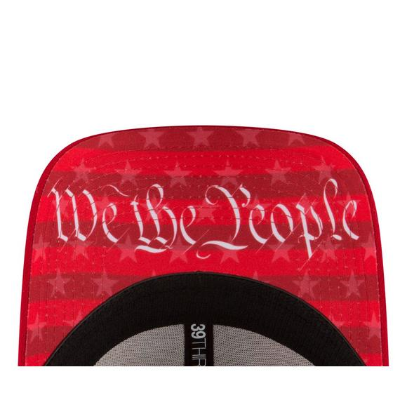 the best attitude bc2ac 580f5 ... czech new era cleveland indians 4th of july 39thirty stretch fit hat  main container image beee9