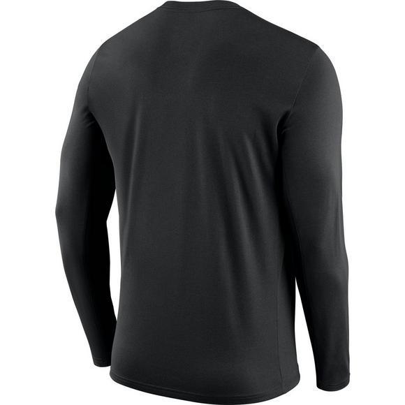 75b1965cd03d1 Nike Men's New Orleans Saints Dri-Fit Cotton Icon Long Sleeve T-Shirt -  Hibbett US