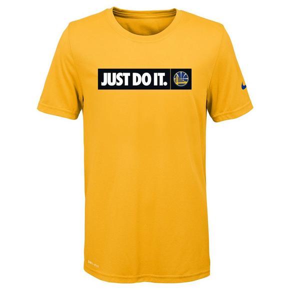 da122c9a Nike Youth Golden State Warriors Dri-Fit Just Do It T-Shirt - Hibbett US