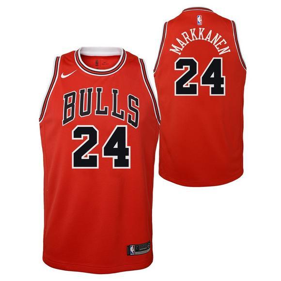 super popular d900c ede0e Nike Youth Chicago Bulls Lauri Markkanen Icon Swingman ...