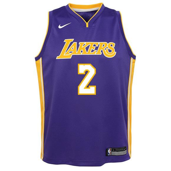bcf1844b9 Nike Youth Lonzo Ball Los Angeles Lakers Icon Swingman Jersey - Main  Container Image 1