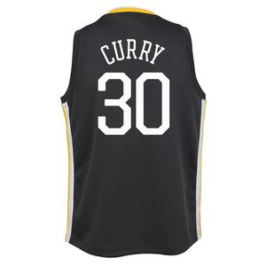b03669223a9a Nike Youth Steph Curry Golden State Warriors Statement Swingman Jersey