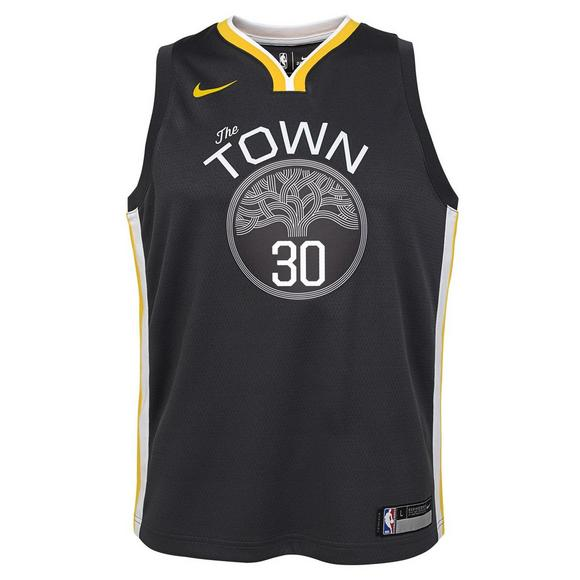 bbed8e8ce Nike Youth Steph Curry Golden State Warriors Statement Swingman Jersey -  Main Container Image 1