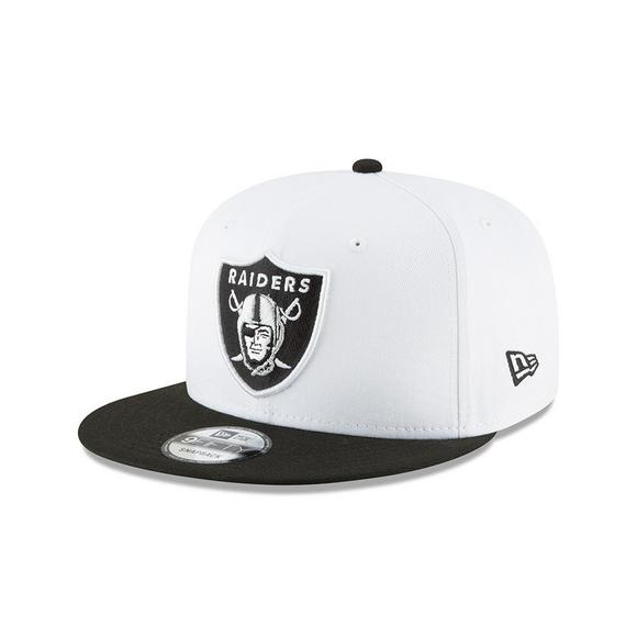 9d27e7b3ddd New Era Oakland Raiders 9FIFTY STK Snapback Hat - Main Container Image 1