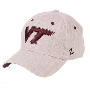 58ebaf89f5d Zephyr Virginia Tech Hokies Tailored Stretch Fit Hat