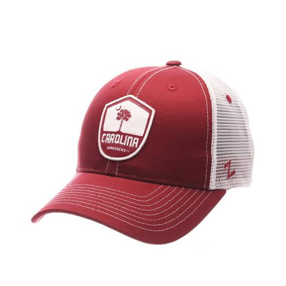 0c8c9323271 Zephyr South Carolina Gamecocks Team Shield Adjustable Hat - Main Container  Image 1