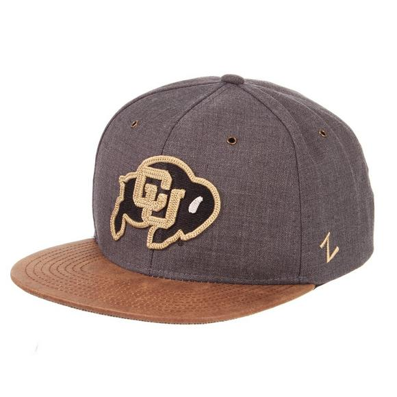 9b7b5f068e452 Zephyr Colorado Buffaloes Monarch Snapback Hat - Main Container Image 1