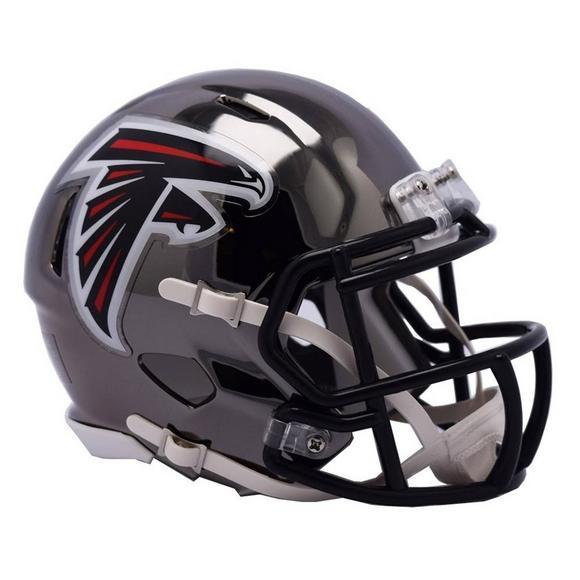 separation shoes aa6e2 20026 Riddell Atlanta Falcons Chrome Speed Mini Helmet - Hibbett ...