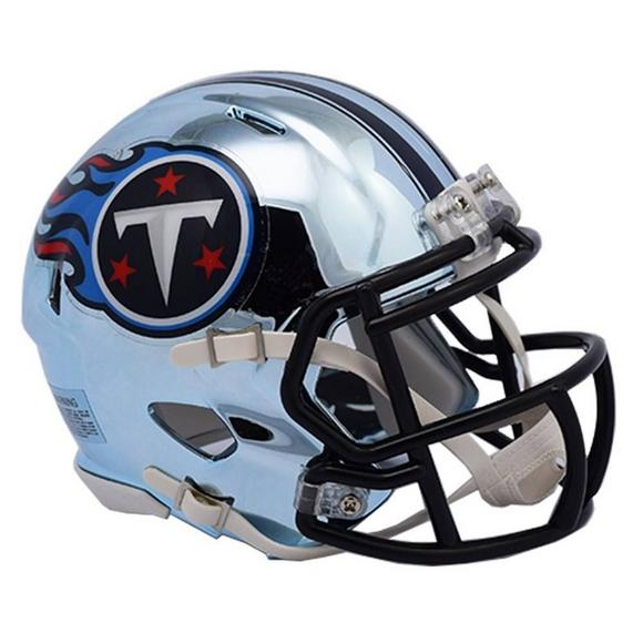 official photos e771e e5d2f Riddell Tennessee Titans Chrome Speed Mini Helmet - Hibbett US