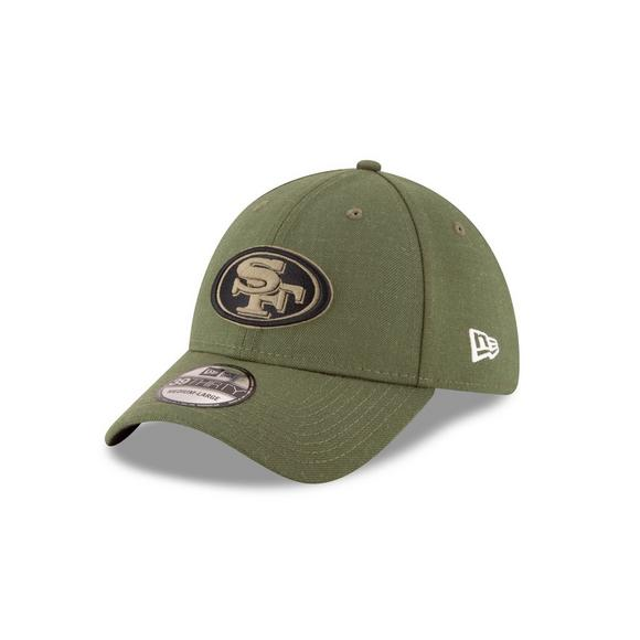 New Era San Francisco 49ers Salute to Service 39THIRTY Stretch Fit Hat -  Main Container Image e96fa18c4eb9