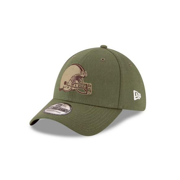 best sneakers d842e 81597 New Era Cleveland Browns Salute to Service 39THIRTY Stretch ...
